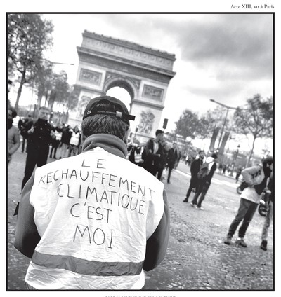 Photo Plein le dos / Acte 13, Paris (9 février 2019) {JPEG}