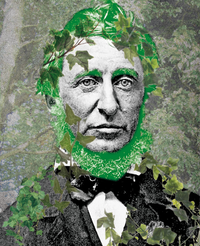 Henry David Thoreau ( 1817-1862) {JPEG}